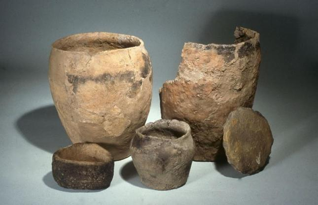 Cooking pots from Orkney I.A.