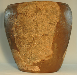 lron Age pot from Bredon Hill Fort