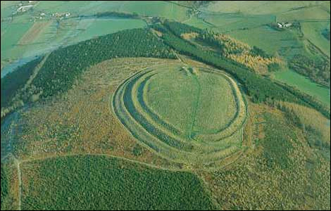 Old Oswestry Iron Age Hillfort.