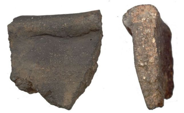 Two pottery sherds possibly Malvernian Ware