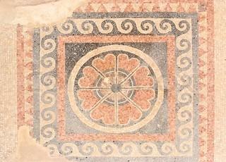 Mosaic from Herods Palace Masada