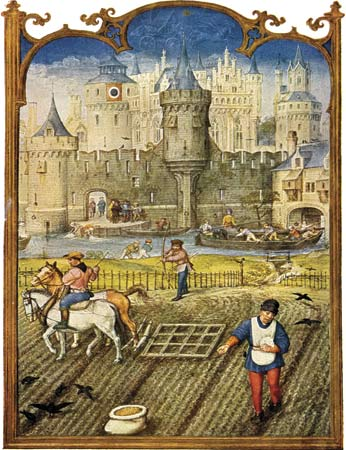 Peasants life in the middle ages.