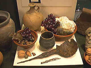 Roman food and utensils