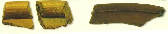 Pot Shards found at Tintagel
