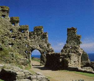 TintagelCastle ruins