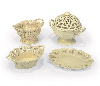 Collection of Wedgwood Creamwares.