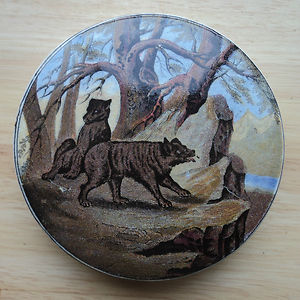 Pratt Ware  Bears Grease Pot Lid