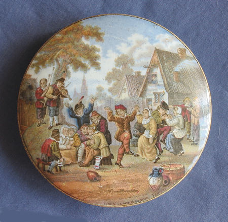 Pratt Ware Pot Lid  The Village Wedding