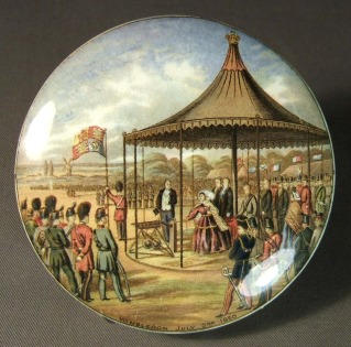 Prattware Pot Lid  Wimbledon July 2nd l860
