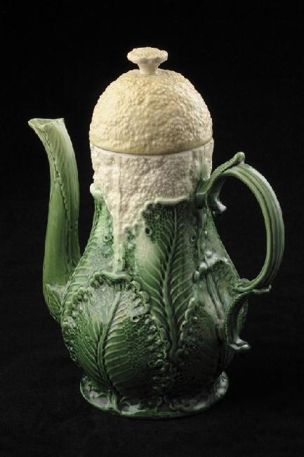 Wedgwood Teapot 1759 Green Glaze