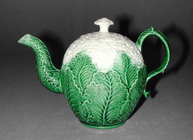 Wedgwood Teapot Cauliflower wares