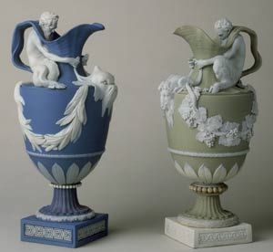 wine_water_ewers Wedgwood Jasper wares.