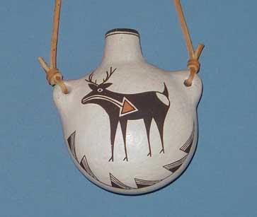 Acoma Pueblo Flask