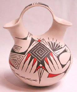 Hopi wedding vase.