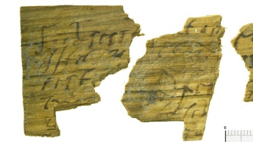 Roman Writing tablets London Excavation