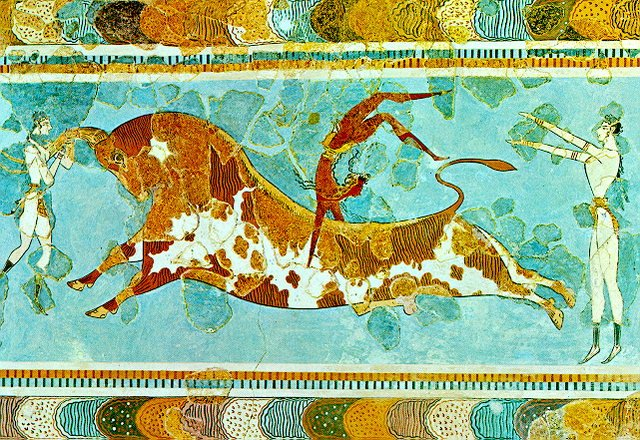 The Bull Leaping games at Knossos