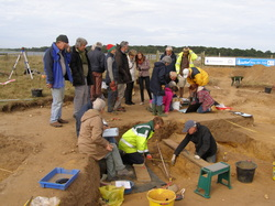 Anglo Saxon Burial excavation 2