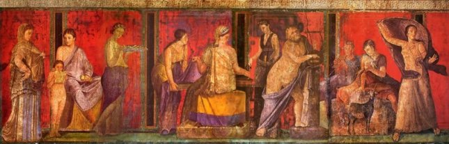 Fresco from the House of Mysteries