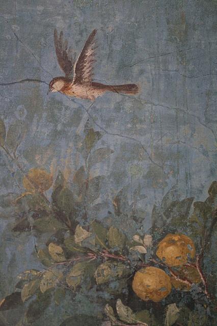 Roman Fresco- Villa Livia