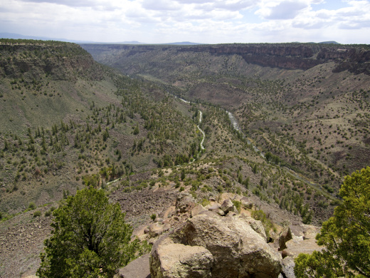 The confluence from the La Junta Point overlook