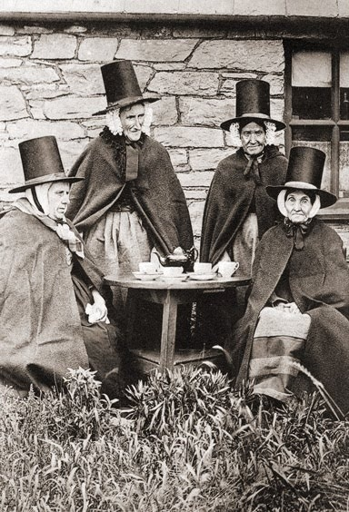 Welsh men and ladies