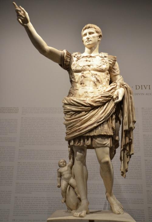 Augustus of Prima Porta, discovered  in the Villa of Livia at Prima Porta © Carole Raddato