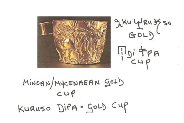 Show and Tell Gold Cup.