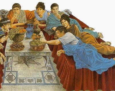 Ancient Roman Feast