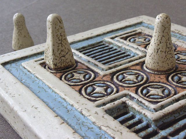 Knossos Board Game.