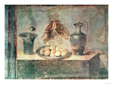 Roman frescoe Pompei