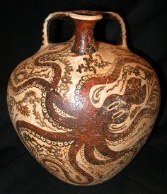 Minoan Pot Octopus
