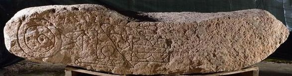 Pictish - stone with synbols (1)