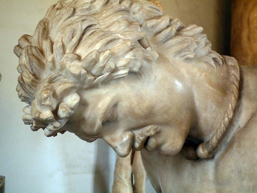 The dying gaul statue 2