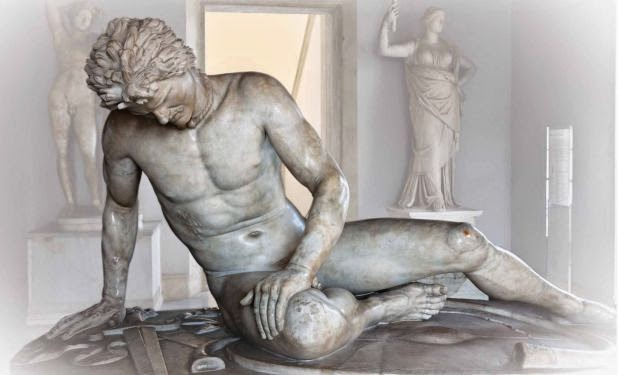 The dying Gaul Statue