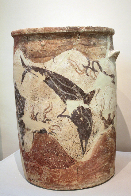 Storage pot from Akrotiri