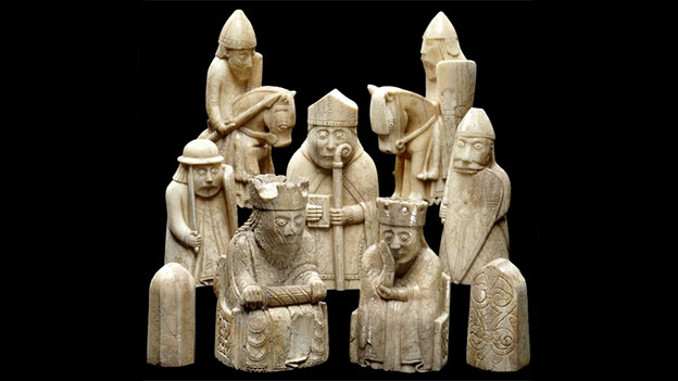 Lewis chess set in the British Museum