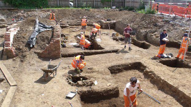 Northamptons Excavation site.