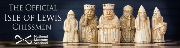 Official Chessmen of Lewis Island.