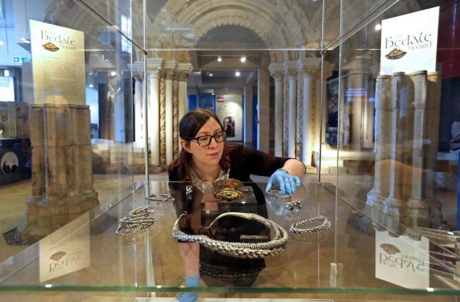 Curator of archaeology Natalie McCaiul.