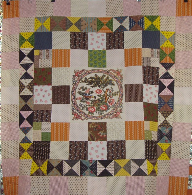 Example of another patchwork quilt York Museum