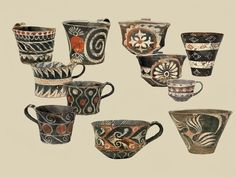 kames-ware-cups-1800-1700-bc